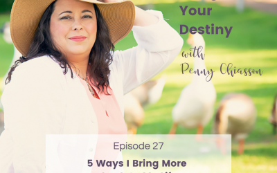 5 Ways I Bring More Joy Into My Life