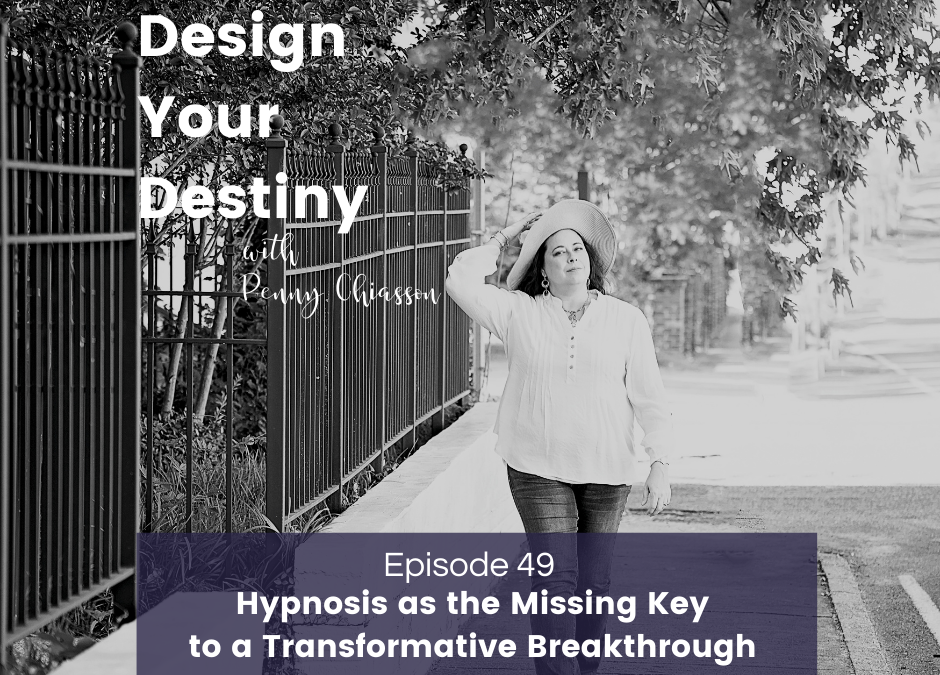 Hypnosis as the Missing Key to a Transformative Breakthrough with Tina Madsen