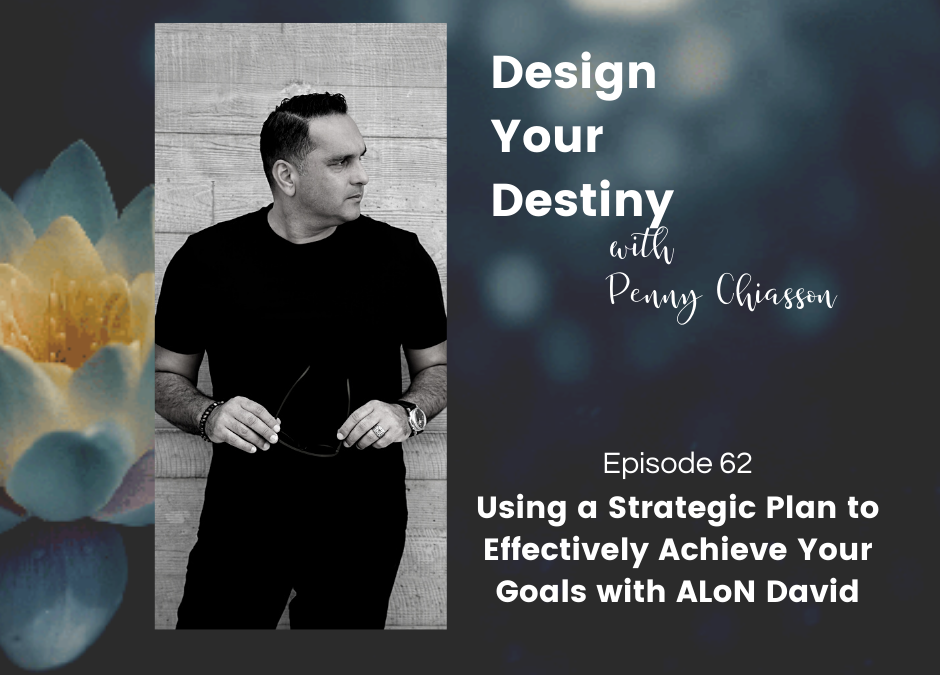 Using a Strategic Plan to Effectively Achieve Your Goals with ALoN David